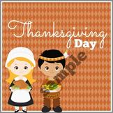 Thanksgiving Calendar Marker