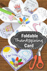 Thanksgiving Craft Activity (Craftivity), Thanksgiving Card for Kids to Make