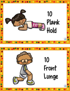 Thanksgiving Cardio Shopping Movement Game for PE, Brain Breaks & Parties