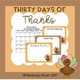 Thanksgiving Cards - Thirty Days of Thanks - Thankful Project