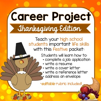 Thanksgiving Career Project