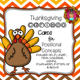Thanksgiving Cariboo Cards - Spatial Concepts