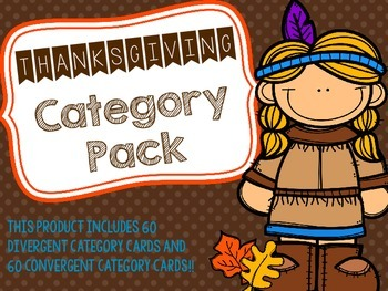 Thanksgiving Category Pack