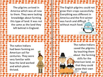 Thanksgiving Cause and Effect Centers Activities for Reading Comprehension