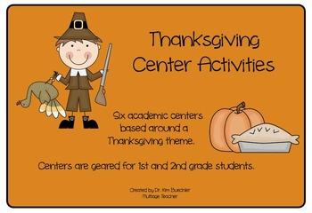 Thanksgiving Center Activities
