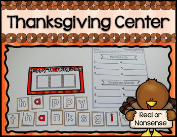 Thanksgiving Center ~ CVC Real or Nonsense