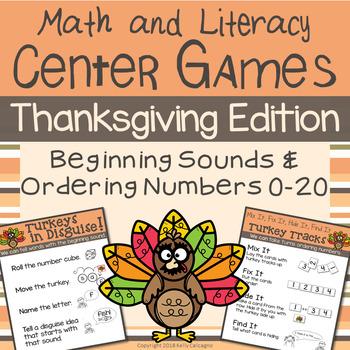 Thanksgiving Center Games