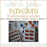 Thanksgiving Center and Small Group Activities