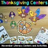 Thanksgiving Centers for Kindergarten