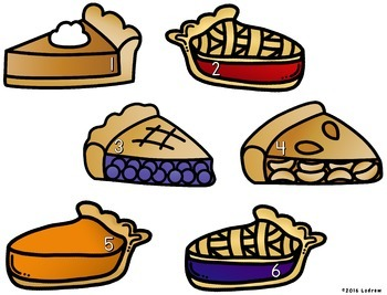 Thanksgiving Centers Activities Free Pie Centers Math Literacy Counting Games