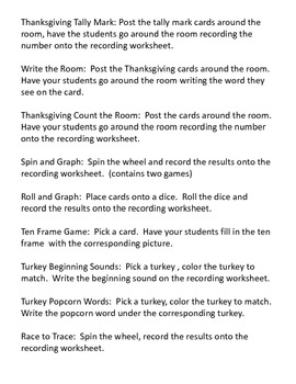 Thanksgiving Centers Pack II