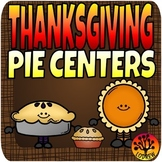 Thanksgiving Centers Activities Pie Centers Math Literacy Book Companion