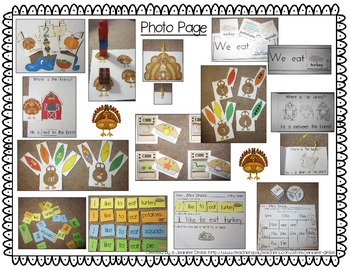 Thanksgiving Centers Super Pack!  *11 Engaging Centers* ~Color & B&W~