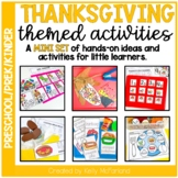 Thanksgiving Centers and Activities for PreK