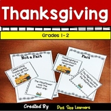Thanksgiving Activities for Grades 1 & 2   Language Arts and Social Studies Unit