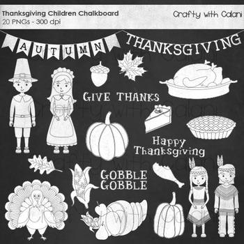Thanksgiving Chalkboard, Thanksgiving pilgrimage Chalkboar
