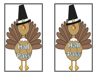 Thanksgiving Character Passes