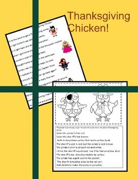 Thanksgiving Chicken