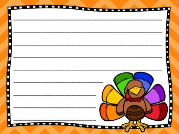 Thanksgiving & Christmas Writing Papers BUNDLE!