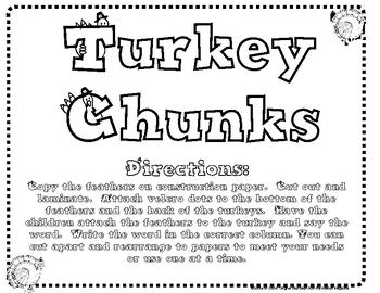 Thanksgiving Chunks