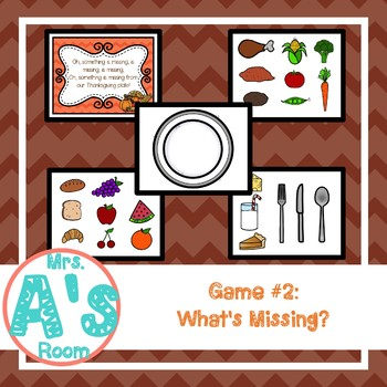 Thanksgiving Circle Time Activities Set #3
