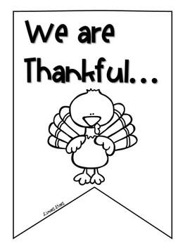 Thanksgiving Class Banner