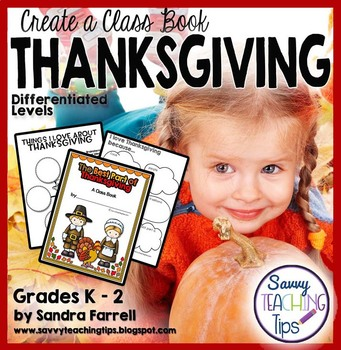 Thanksgiving Class Book