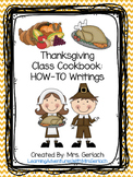 Thanksgiving Class Cookbook