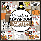 Thanksgiving Classroom Party Pack