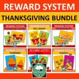 THANKSGIVING TOKEN BOARDS Class Reward Systems BUNDLE Fall