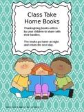 Thanksgiving Class Take Home Books