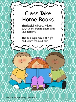 Thanksgiving Class Take Home Books