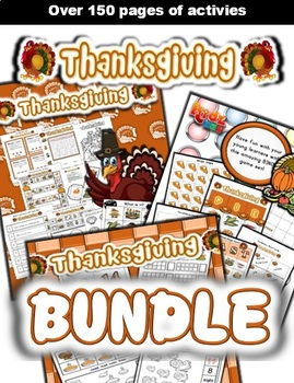 Thanksgiving Classroom Center Bundle