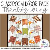 Thanksgiving Classroom Decorations