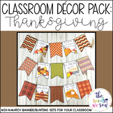 Thanksgiving Classroom Decorations