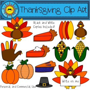 Thanksgiving Clip Art | Build Your Own Turkey