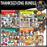 Thanksgiving Clip Art Bundle {Educlips Clipart}