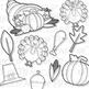 Thanksgiving Clip Art (Digital Use Ok!)
