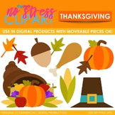 Thanksgiving Clip Art (Digital Use Ok!)