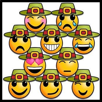 Thanksgiving Emoji Clip Art