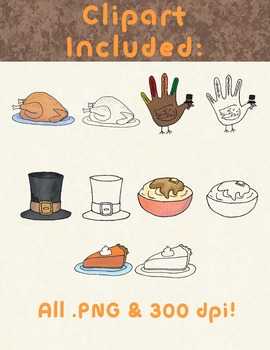 Thanksgiving Clip Art FREEBIE