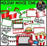 Holiday Movie Time Clip Art Bundle {Educlips Clipart}