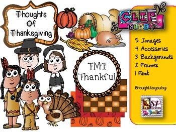 Thanksgiving Clip Art Kit