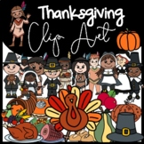 Thanksgiving Clip Art: Moveable for Paperless Resources