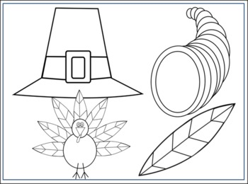 Thanksgiving Clip Art Pack