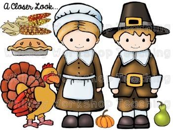 Thanksgiving Clip Art Set