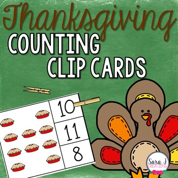 Thanksgiving Clip Cards