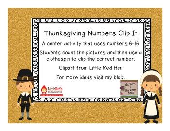 Thanksgiving Clip It!