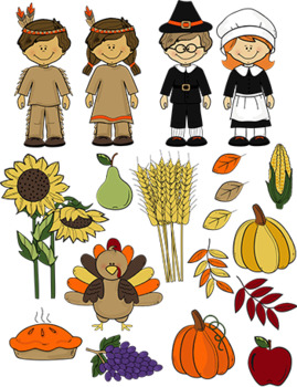Thanksgiving Clip art Bundle