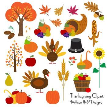 Clipart: Thanksgiving Clip Art